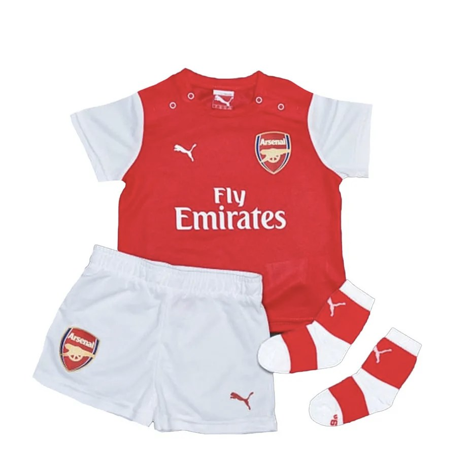 691d7be7b Arsenal PUMA Home Baby Football Kit 2014-15 - Exclusive Sports