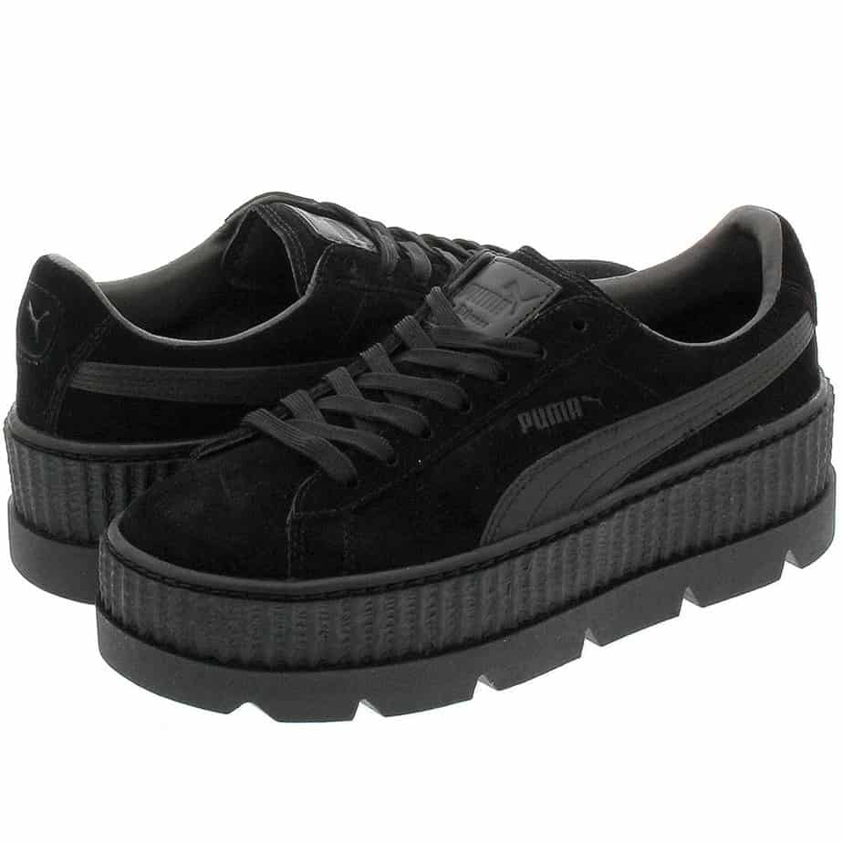 PUMA X Rihanna Fenty Creepers Black Womens Trainers - Exclusive Sports 5f51301a2