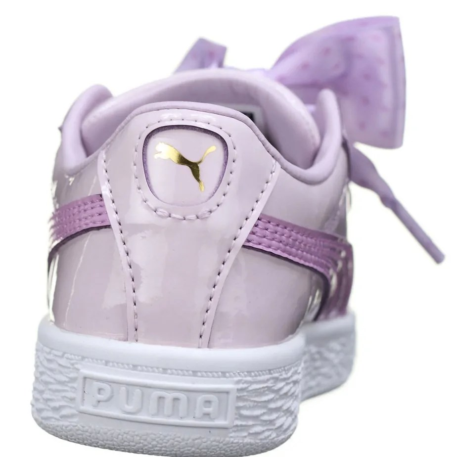 the latest a9298 97192 PUMA Basket Heart Stars Infant Girls Pink Shoes