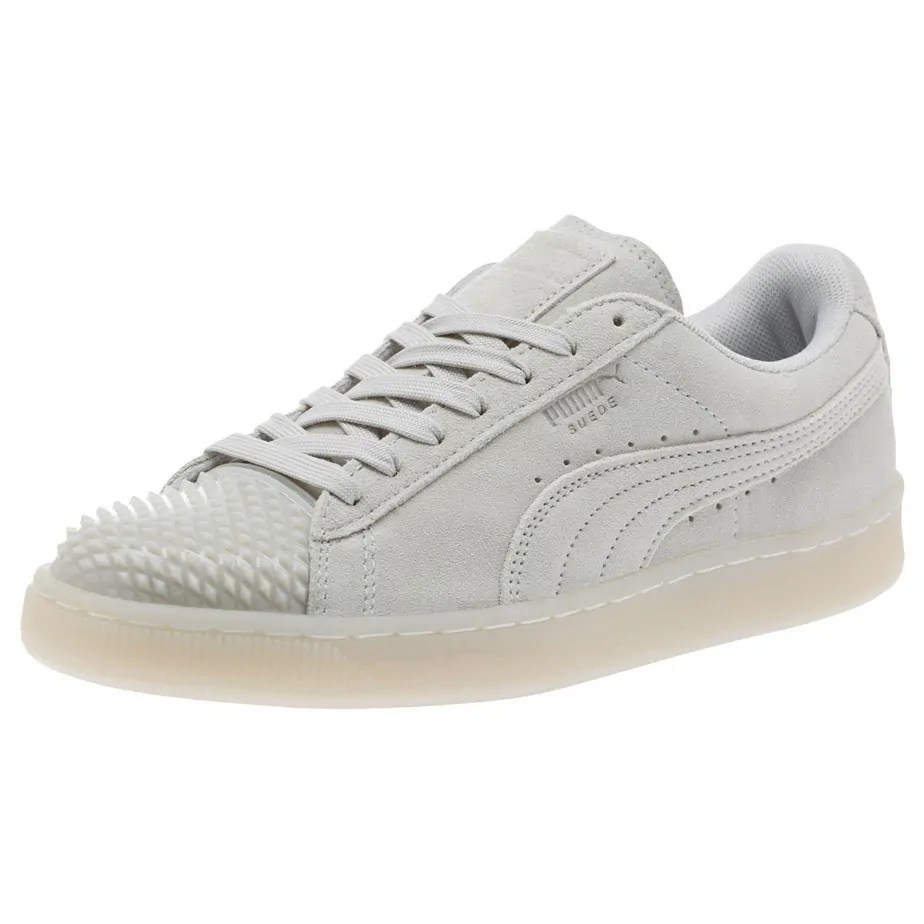 White Ladies Jelly Suede Puma Trainers QCsdxthr