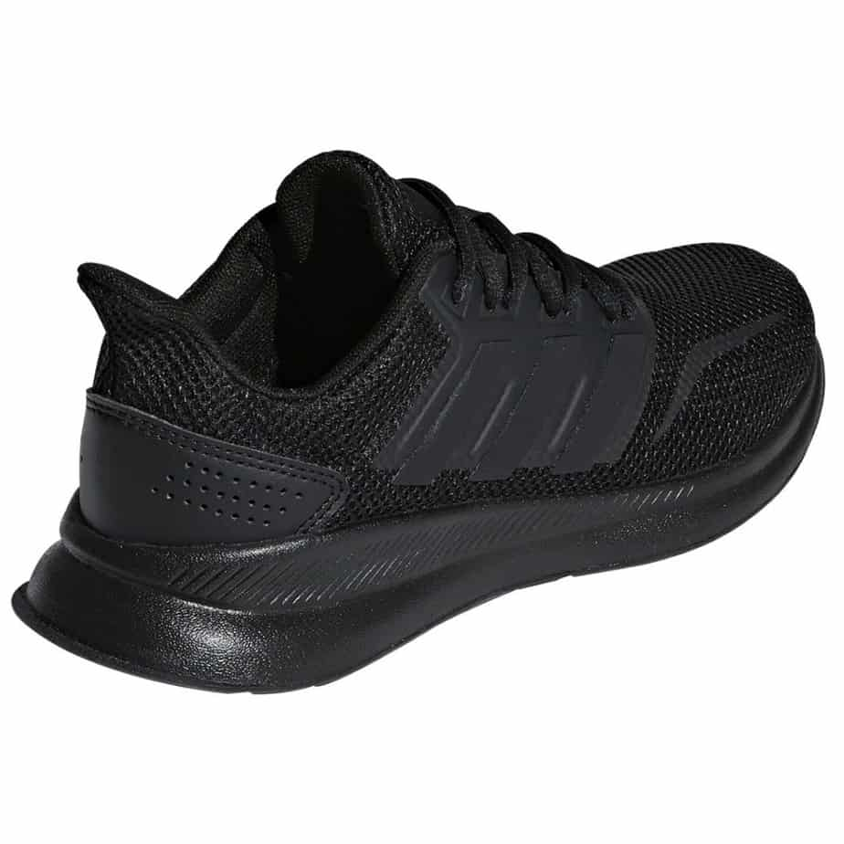 best website abb96 80062 adidas Runfalcon Childrens Black Running Trainers