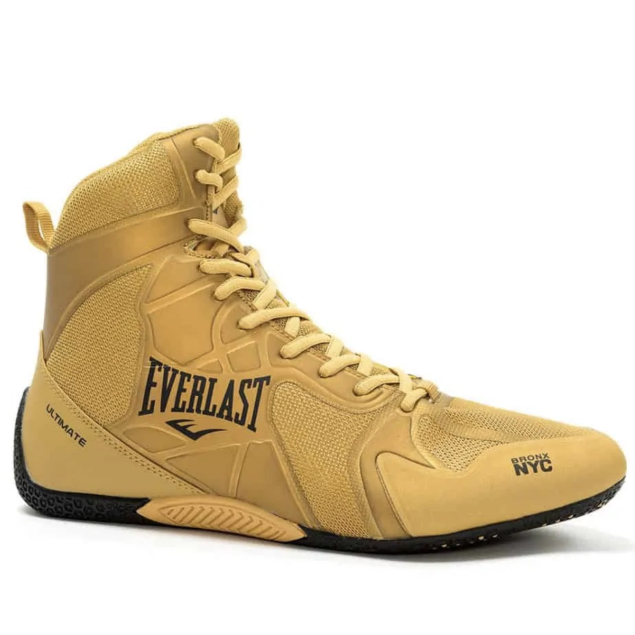 Arenoso Etna Puerto  Everlast Mens Ultimate Pro Gold Boxing Boots - Exclusive Sports