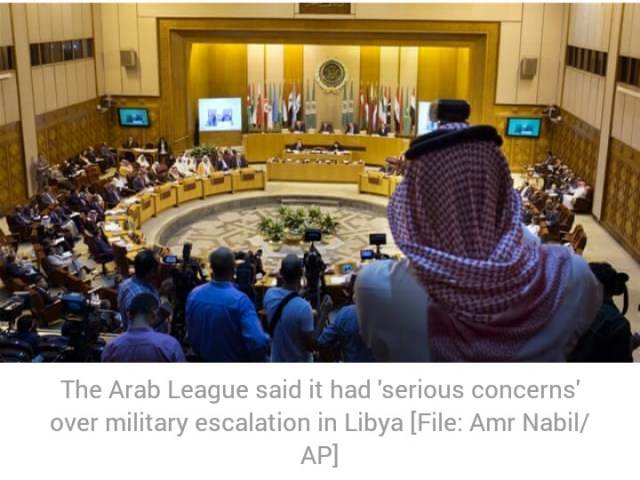 Arab League warns against 'foreign interference' in Libya