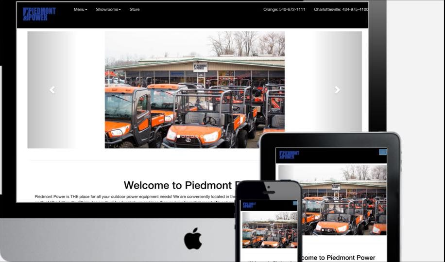 Piedmont Power Website
