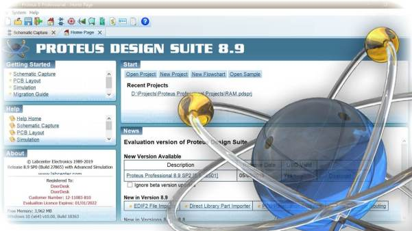 Proteus 8.10 SP3 Crack Professional Full Version Download (Latest)
