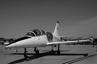 Airforce pilot trainer jet