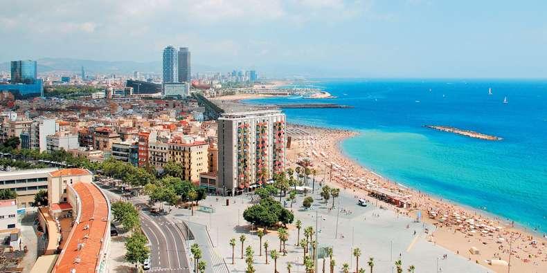 Экскурсии в Барселоне, цены - райское побережье Барселоны