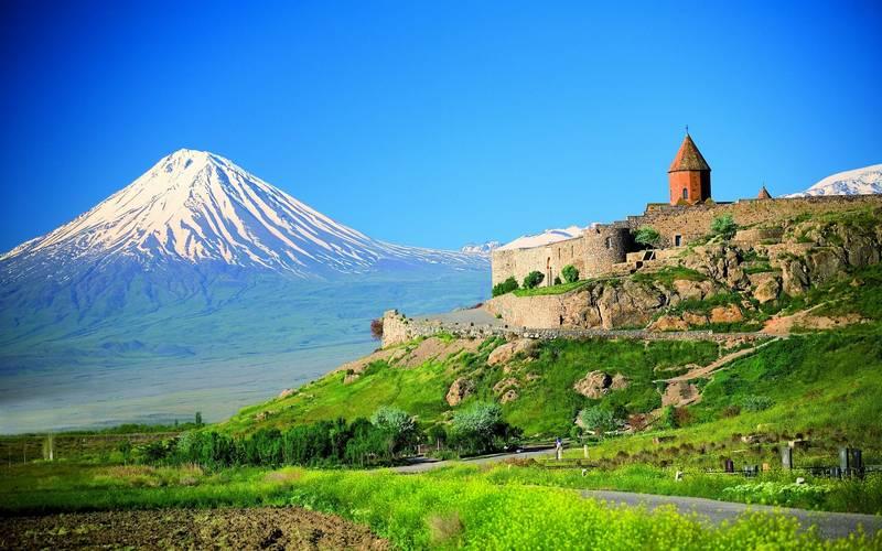 Отдых в Армении  Гора Арарат