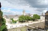 vue sur la vieille cité d'Angers et la cathédrale St Maurice d'Angers
