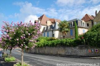 Petite maison le long des quais de Bergerac