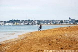 Etel vue depuis la plage