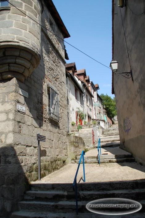 Visite de la ville d'Aubusson au fil des rues