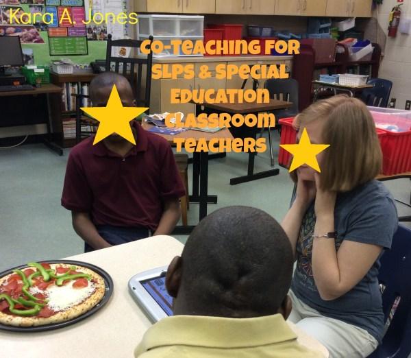 Teaching Slps & Special Education Classroom