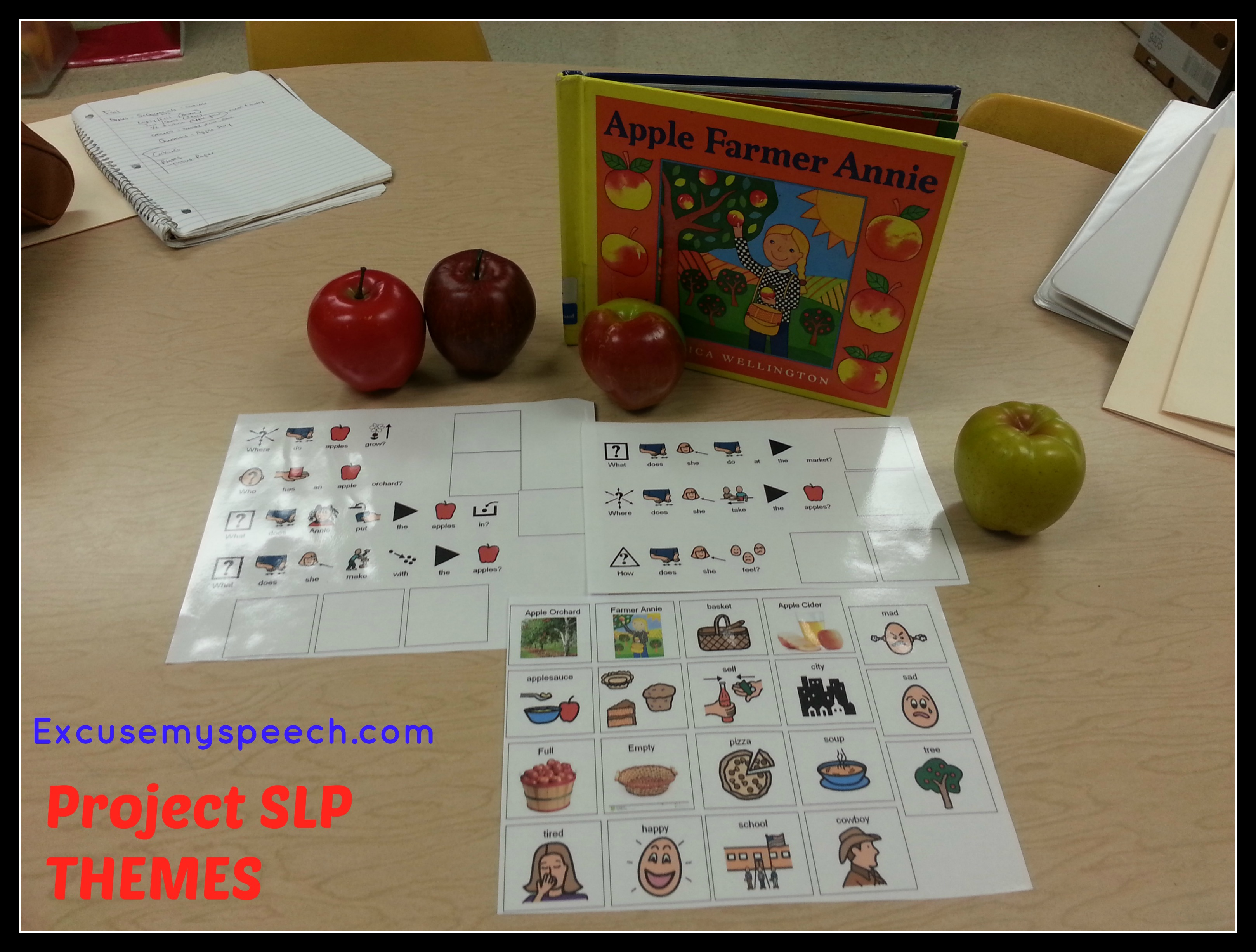 Fall Themes Apples