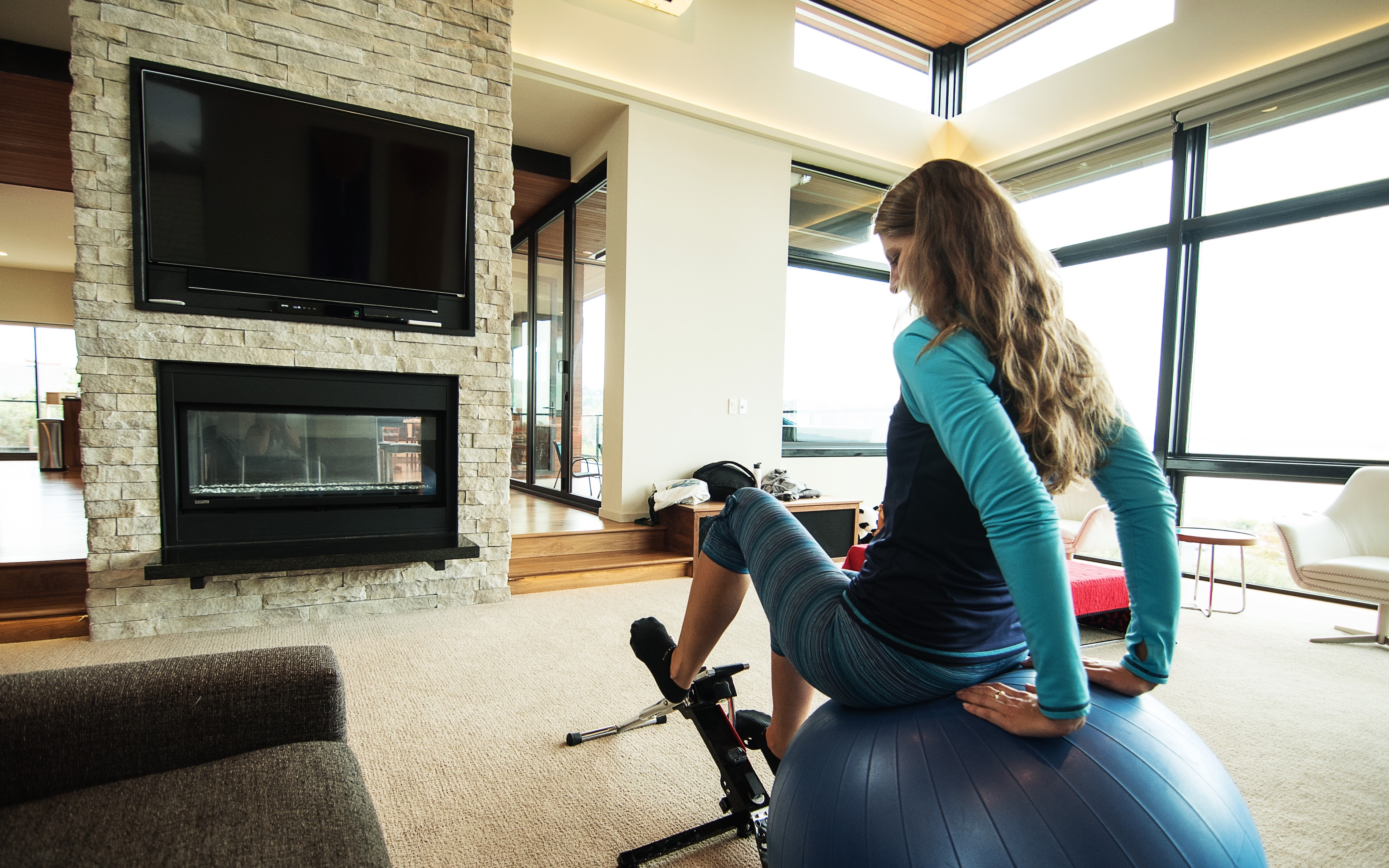 Fun Home Fitness Exercise For Watching TV  Excy