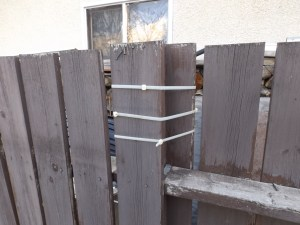 Another fence repair