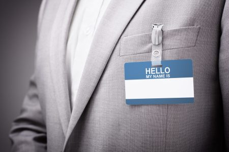 Recruiter ready to network at an event