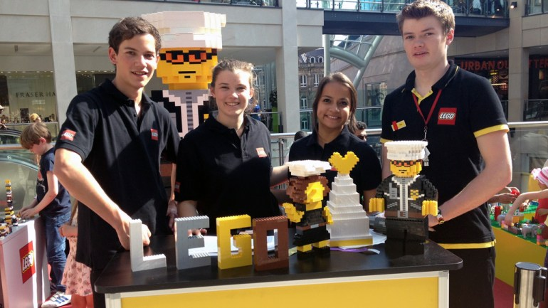 Lego Experiential Nationwide Tour