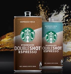 Starbucks Double Shot Sampling