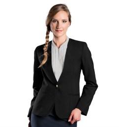 2003 women s ultralux collarless cardigan blazer [ 1200 x 1200 Pixel ]