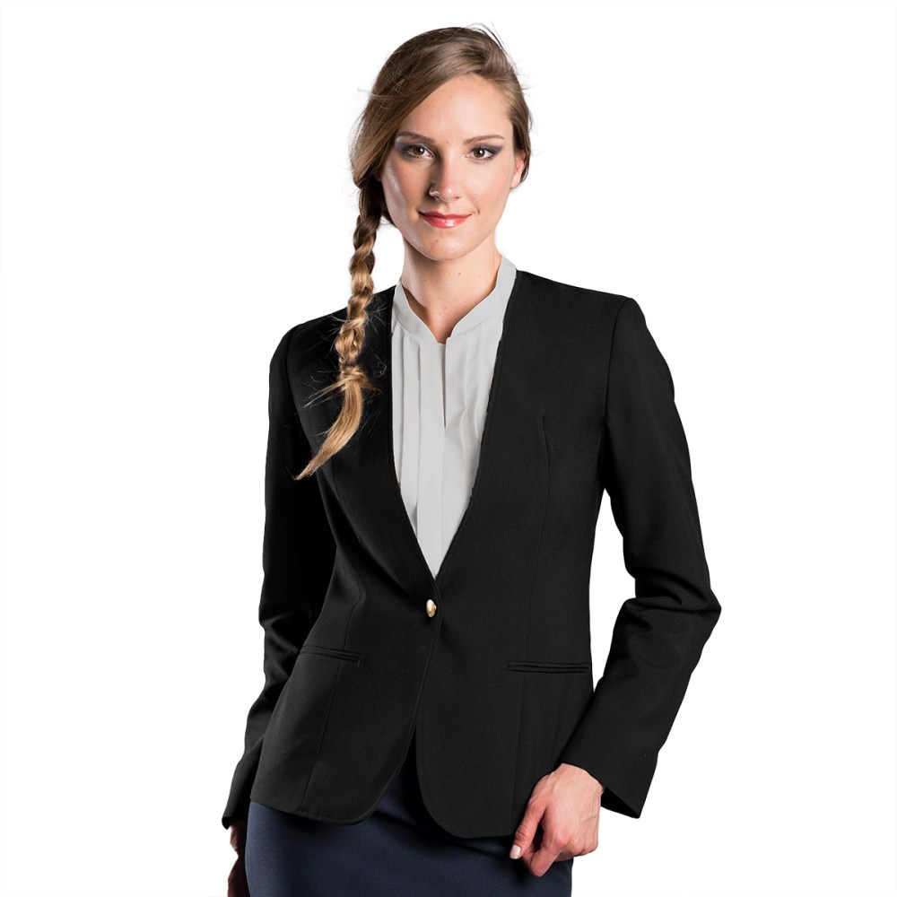 medium resolution of 2003 women s ultralux collarless cardigan blazer