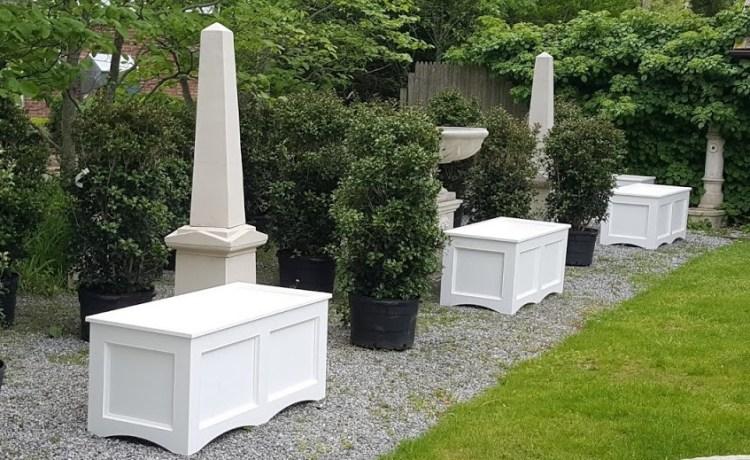 PVC Planter Boxes Azek / Versatex
