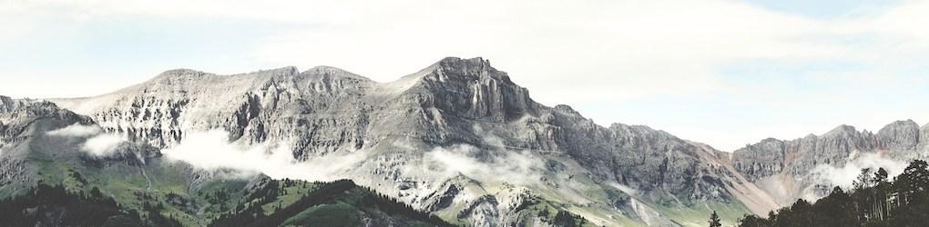 mountain range cropped