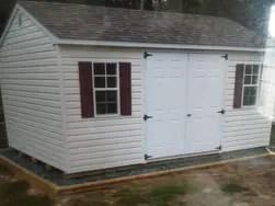 shed moving & foundation leveling