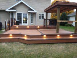 A summer deck