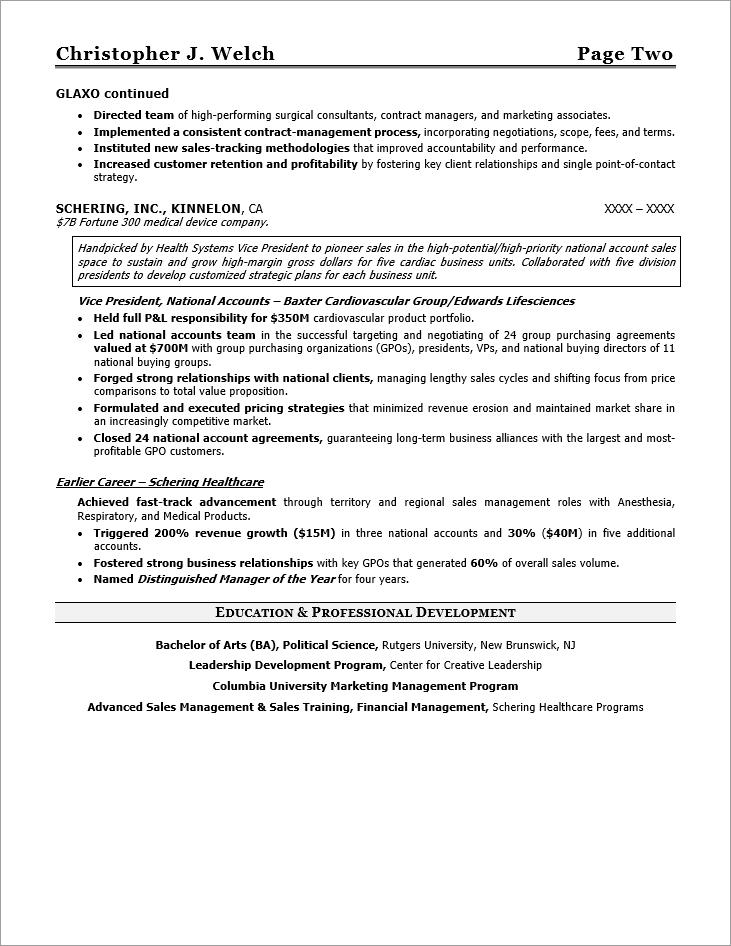 Executive resume writers nyc