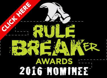 Cool! I've Been Nominated for the Rule Breaker Awards 2016!