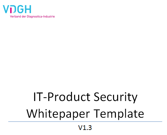 White Paper Template IT Product Security