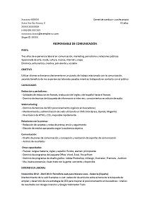 Entretien D Embauche En Espagnol : entretien, embauche, espagnol, Exemple, Chargée, Communication, Espagnol, Exemples