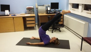 Julia Scodie - Exercise in the City - In the Office