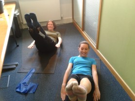 Pilates in very small spaces!