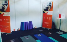 Exercise in the City stand at office* Show - London Olympia