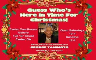 George Tanimoto for Christmas!