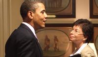 Valerie Jannet, senior advisor Obama