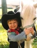 child-pony