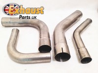 90 Degree Exhaust Mandrel Bends Stainless Steel All Sizes ...