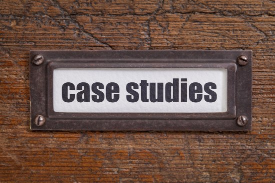 case studies  label