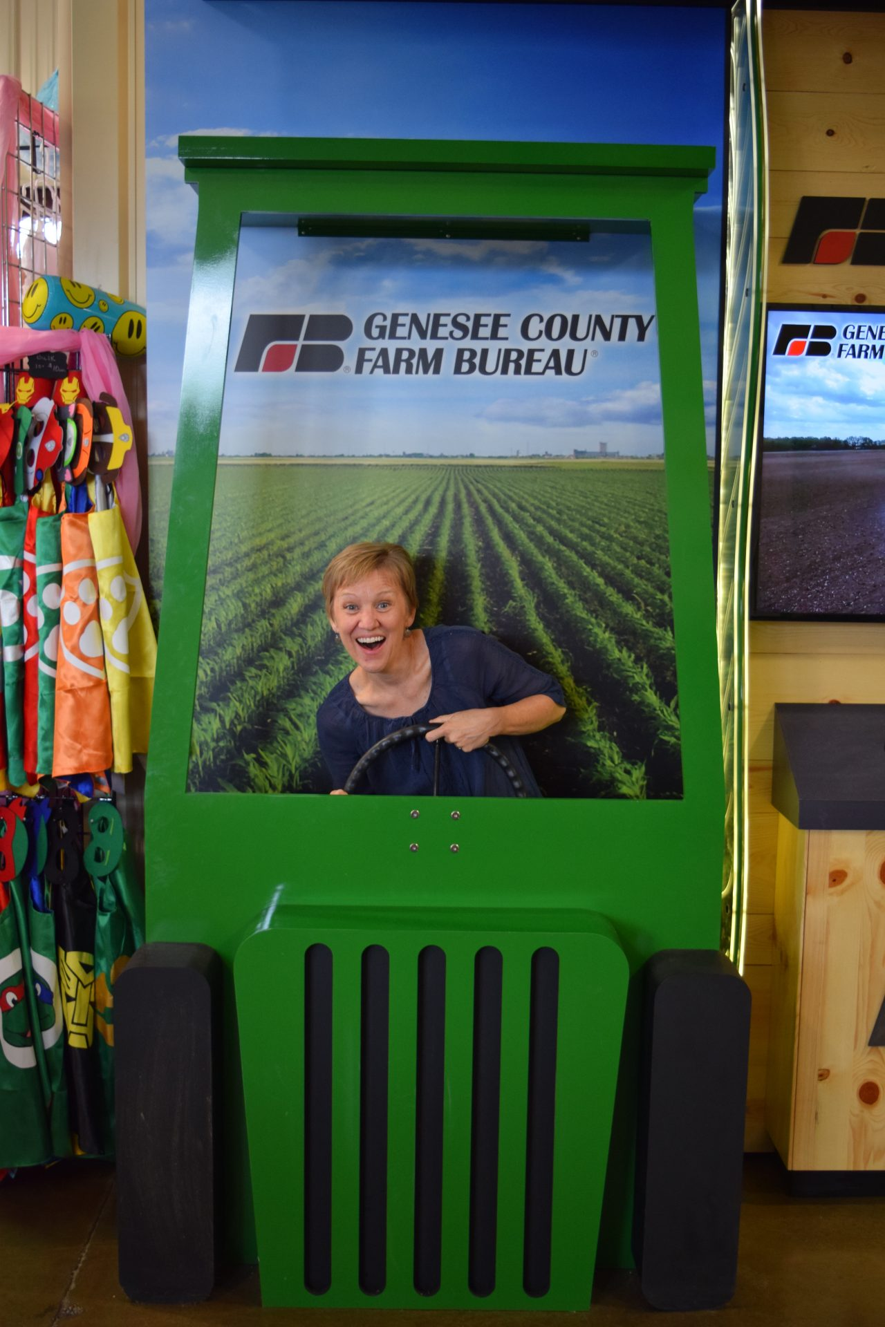 Farmers Market Display And Photo Booth Exhibit Farm The