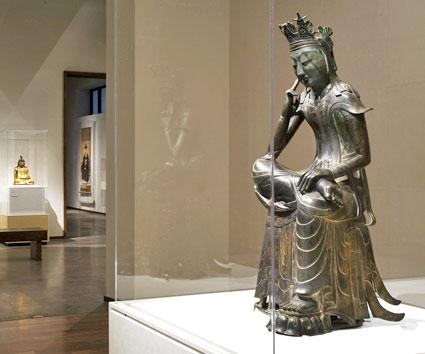 "National Treasure: ""The Pensive Bodhisattva"""