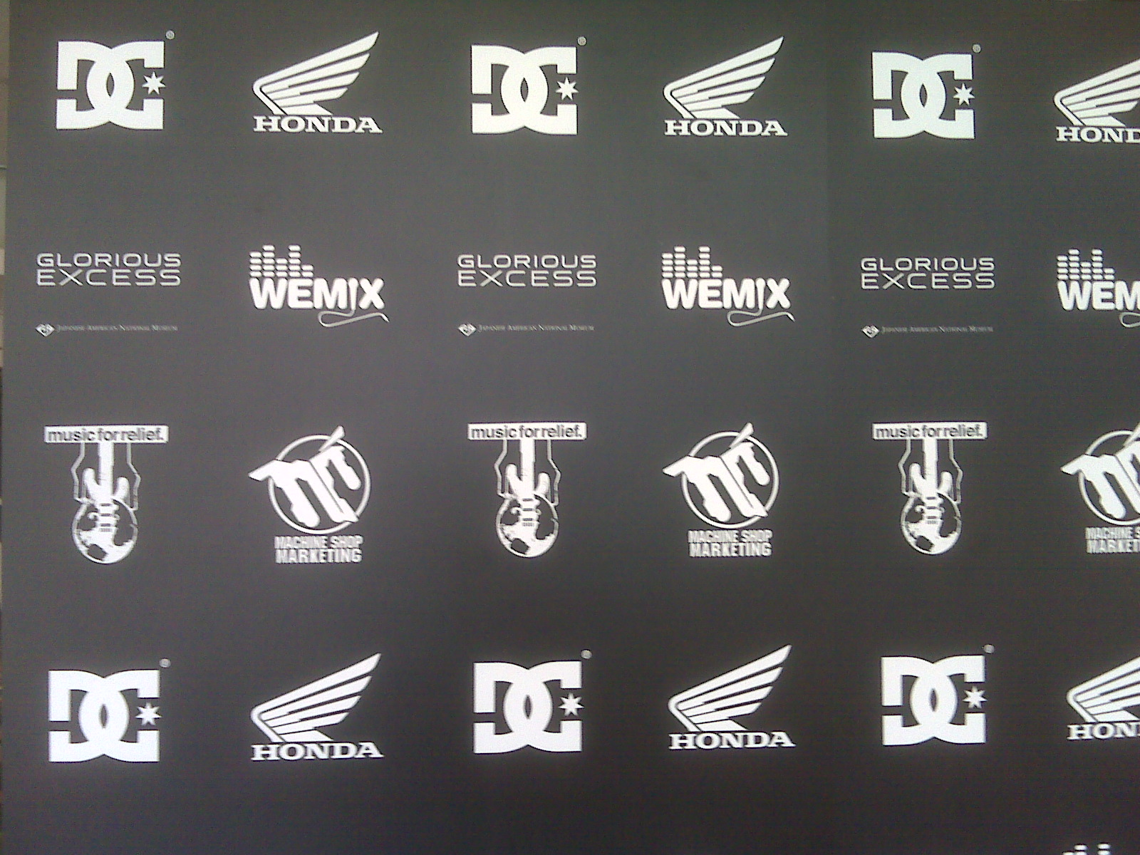Discrete exhibition sponsors