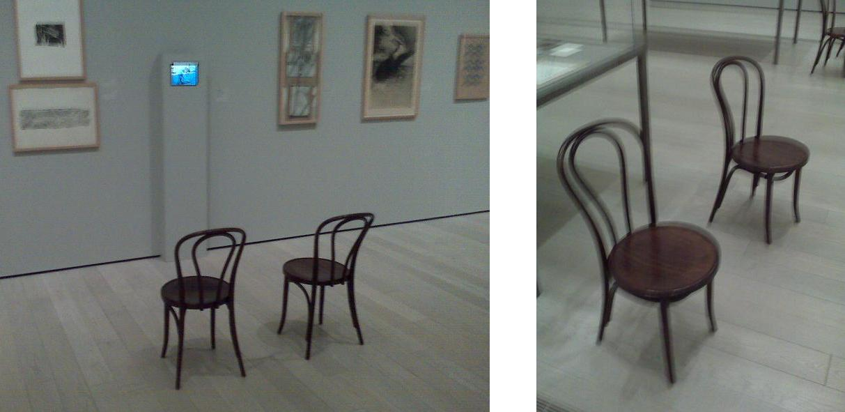 My obsession with seating, some wood chairs