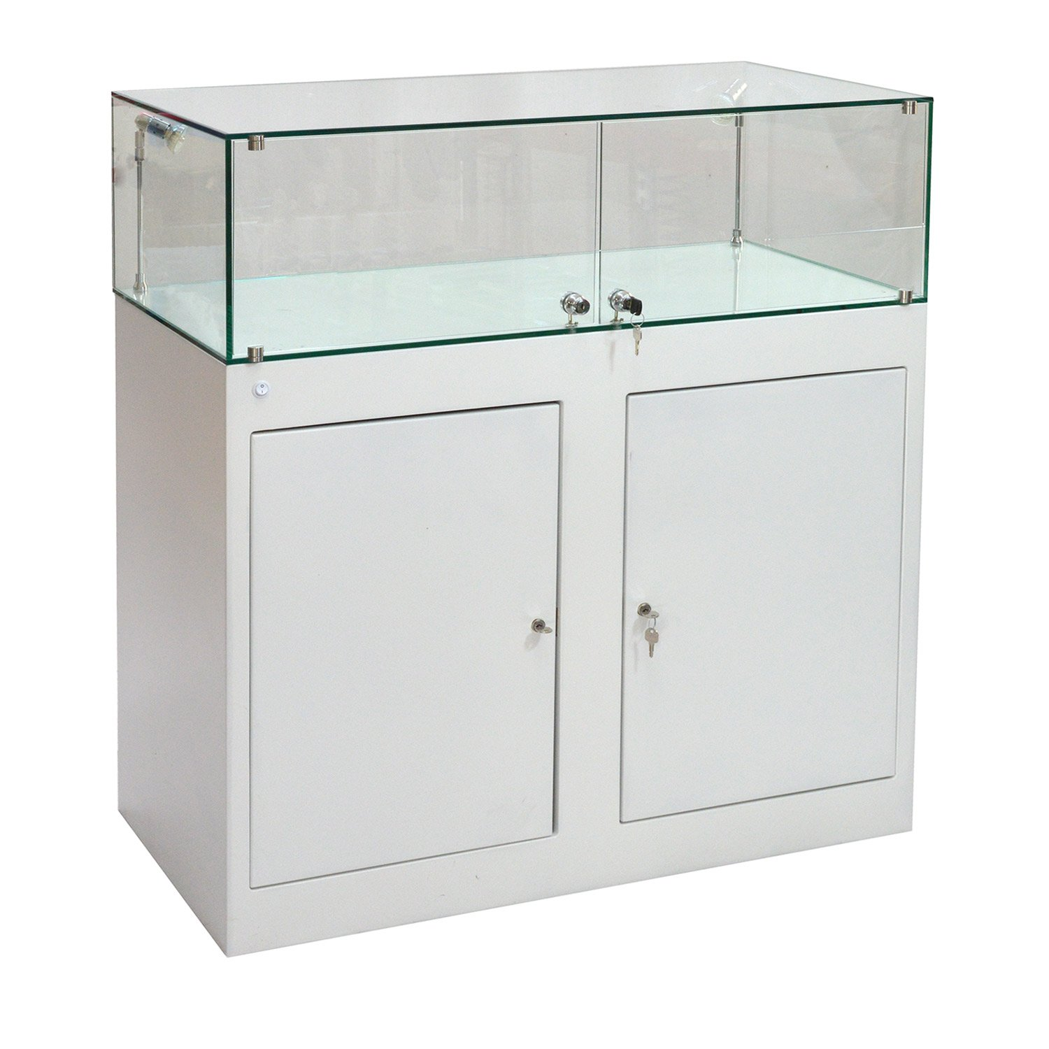 Lockable Glass Display Cabinets