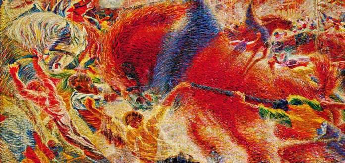 The City Rises Umberto Boccioni