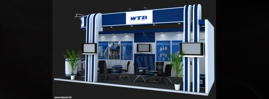 Electronic Exhibition Stall Designer