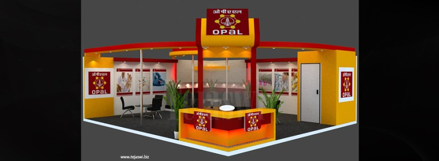 Chemical Exhibition Stall Designer