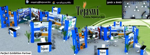 9x3 Portable Exhibition Stall